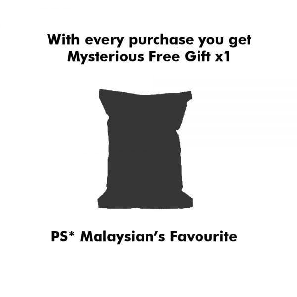 A silhouette of a mysterious free gift