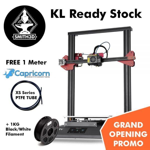 A Creality 3D Printer with free Capricorn XS Series PTFE Tube