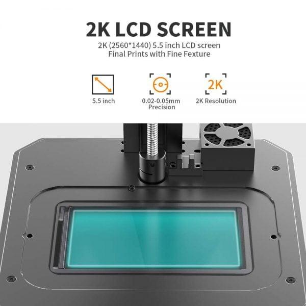 Creality LD002R 3D Printer has 2K LCD Screen