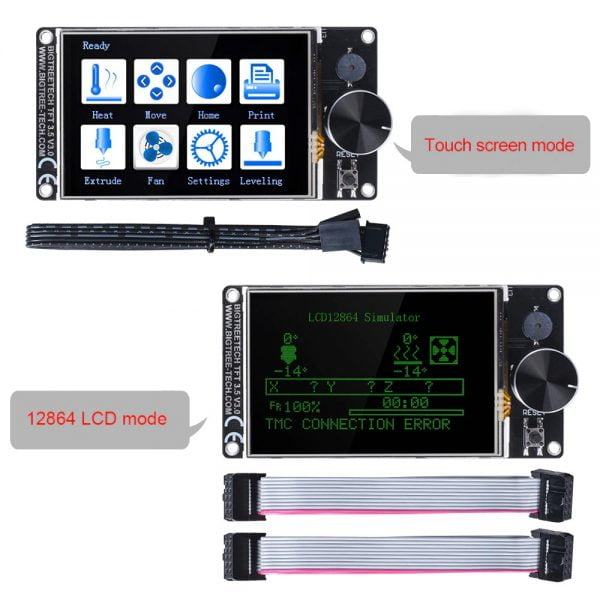Touch Screen & LCD Modes of BIGTREETECH TFT35-E3 V3.0