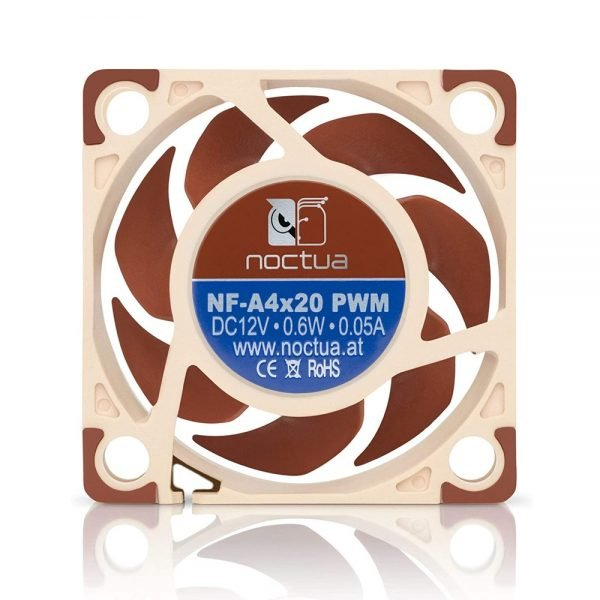 Close up of Noctua NF-A4x20 PWM Fan