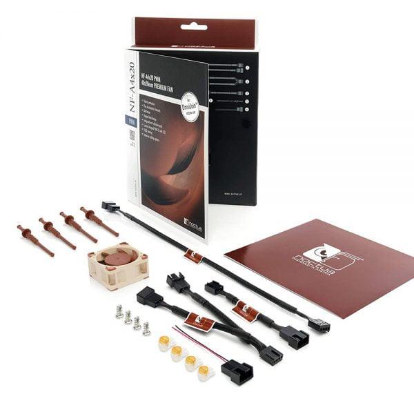 Parts and components of Noctua NF-A4x20 Fan