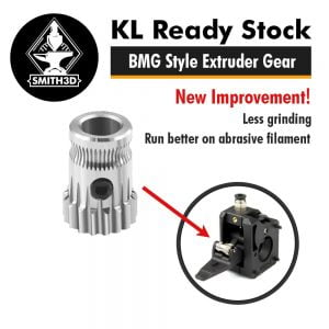 BMG Extruder Gear Compatible for Dual Drive Extruder 3D Printer